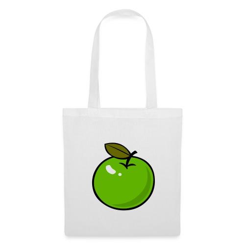 draagtas - appel - Tas van stof