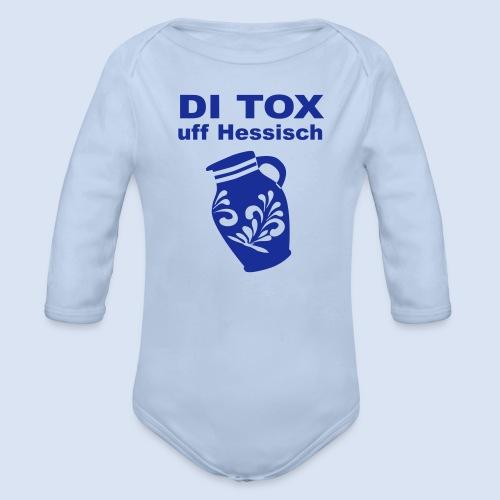 DETOX auf Hessisch - FRANKFURT DESIGN BABY - Baby Bio-Langarm-Body