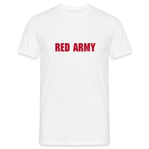 Red Army White - Men's T-Shirt