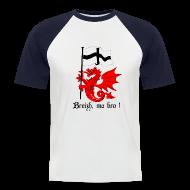 Tee shirts ~ Tee shirt baseball manches courtes Homme ~ Numéro de l'article 10634185