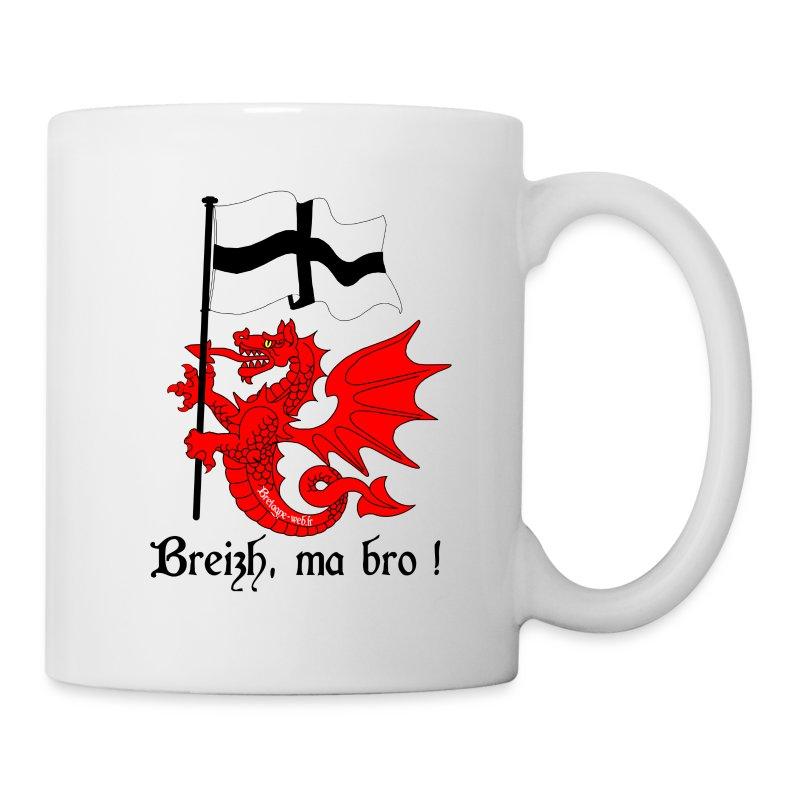 dragon_drapeau_breton - Tasse