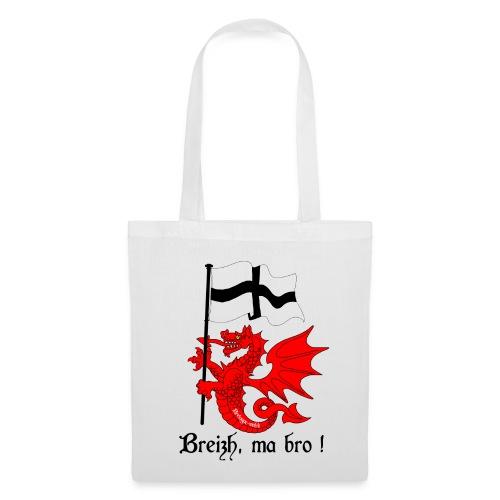 dragon_drapeau_breton - Tote Bag
