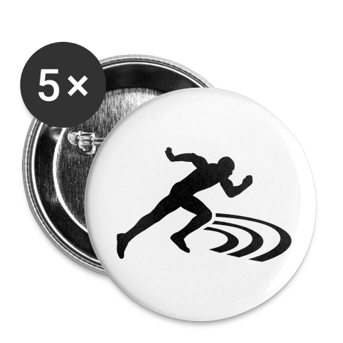 Track and field Badge (56mm) - Badge grand 56 mm