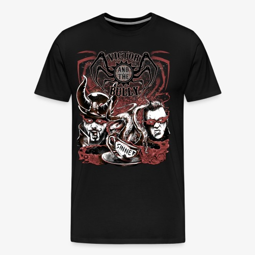 Hell in a Teacup  - Men's Premium T-Shirt