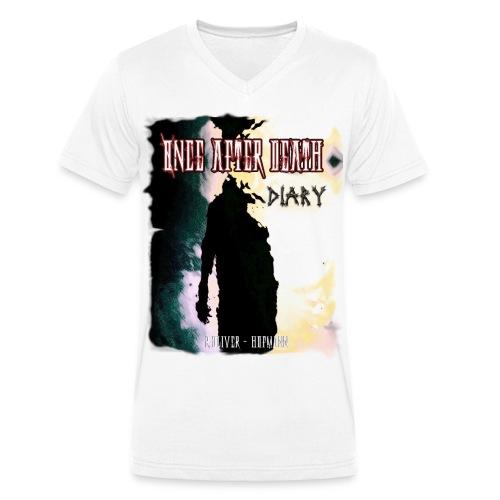 Männer V-Ausschnitt - DIARY Tshirt - Männer Bio-T-Shirt mit V-Ausschnitt von Stanley & Stella