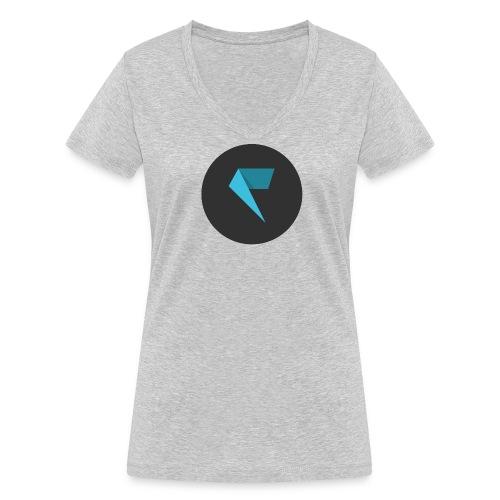 Factornews Basic Femme - T-shirt bio col V Stanley & Stella Femme