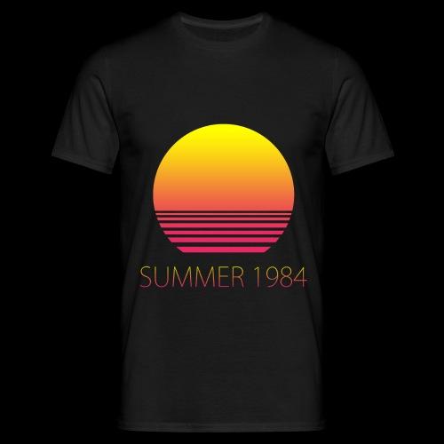 Summer 1984 - Vaporwave - T-shirt Homme