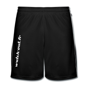 Short de football noir - Short de football Homme