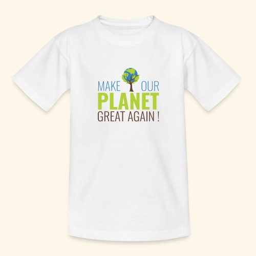 MakeOurPlanetGreatAgain Make Make our planet great again ! - T-shirt Ado