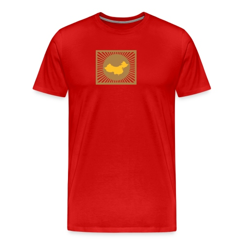 China tee shirt - Men's Premium T-Shirt