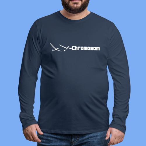 Chromosom eines Segelfliegers - Men's Premium Longsleeve Shirt