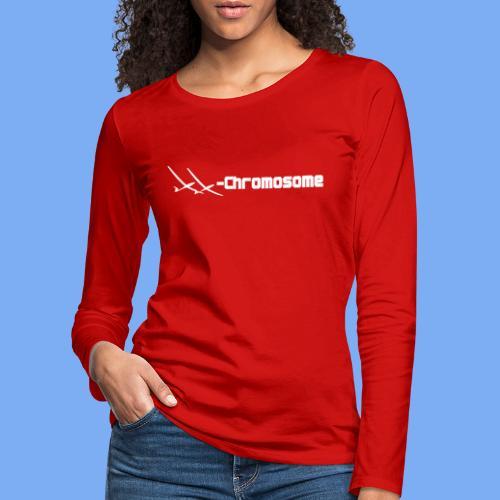 chromosome of a female glider pilot - Women's Premium Longsleeve Shirt