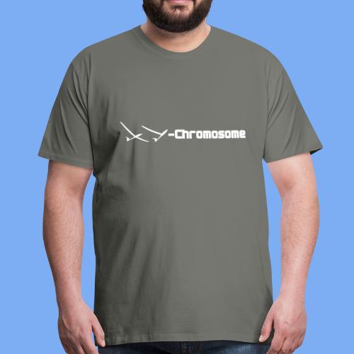 chromosome of a glider pilot - Men's Premium T-Shirt