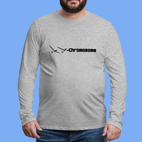 chromosome of a glider pilot - Men's Premium Longsleeve Shirt