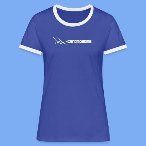 chromosome of a female glider pilot - Women's Ringer T-Shirt