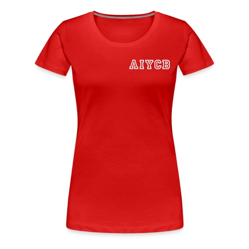 T-Shirt FrontName_RückenFlagge - Frauen Premium T-Shirt