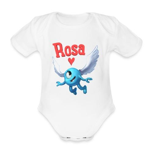 rosa - Organic Short-sleeved Baby Bodysuit
