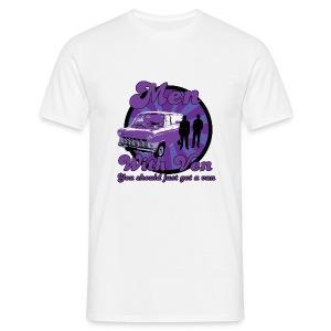 Men With Ven - Men's T-Shirt