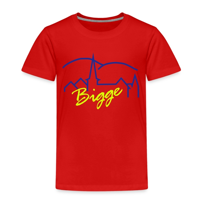 "Kinder-T-Shirt ""Bigge"""