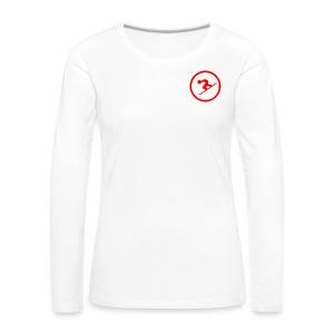 Naisten premium pitkähihainen t-paita