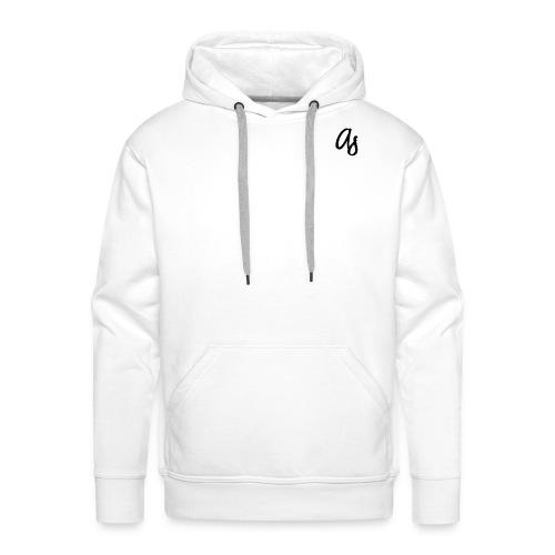 Aspire Hoodie (White) - Men's Premium Hoodie