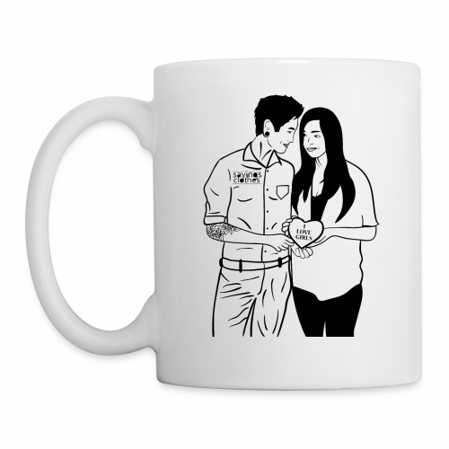 I Love Girl-Tasse - Tasse