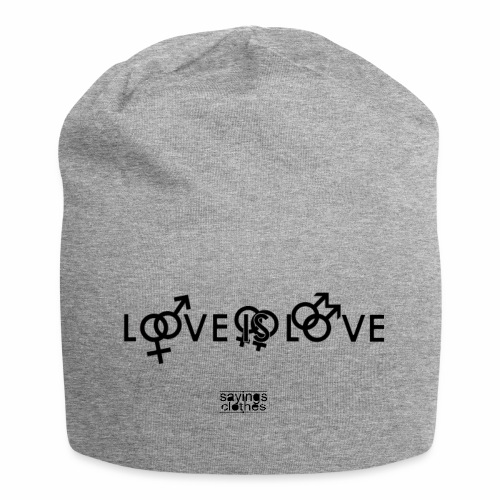 Love Is Love-Mütze - Jersey-Beanie