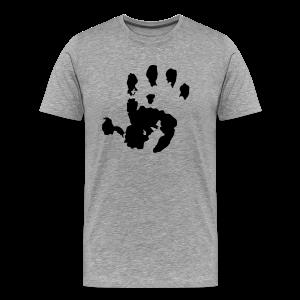 Baby Handabdruck Shirt - Männer Premium T-Shirt