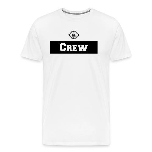 3cki Crew Shirt Weiß Männer - Männer Premium T-Shirt