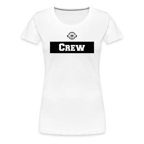 3cki Crew Shirt Weiß Frauen - Frauen Premium T-Shirt