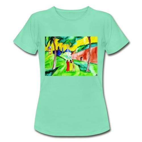 Neuer Morgen, Frauen T-Shirt - Frauen T-Shirt
