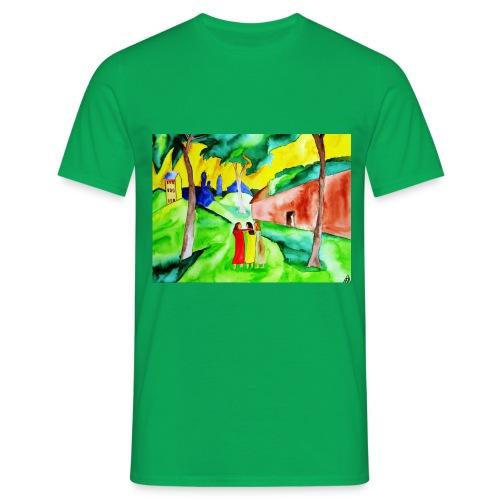 Neuer Morgen, Männer T-Shirt - Männer T-Shirt