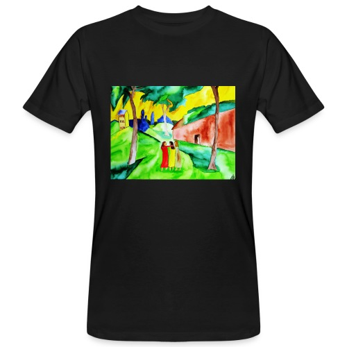 Neuer Morgen, Organic Männer Bio T-Shirt - Männer Bio-T-Shirt