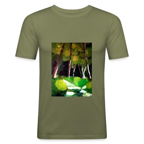 Waldgeister, Männer Slim Fit T-Shirt  - Männer Slim Fit T-Shirt
