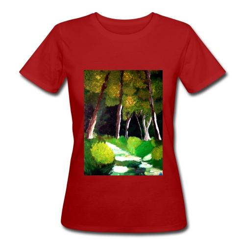 Waldgeister, Organic Frauen Bio T-Shirt  - Frauen Bio-T-Shirt