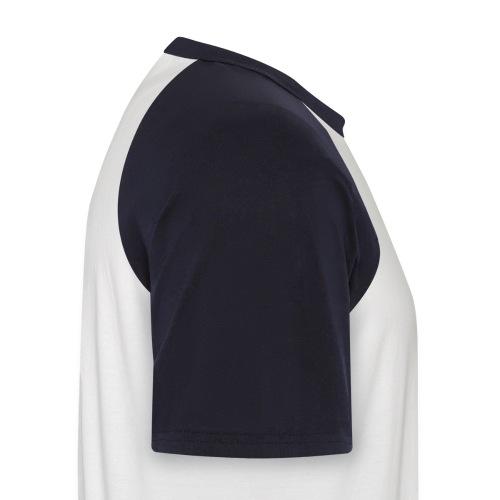 T-Shirt con logo Peace - Maglia da baseball a manica corta da uomo