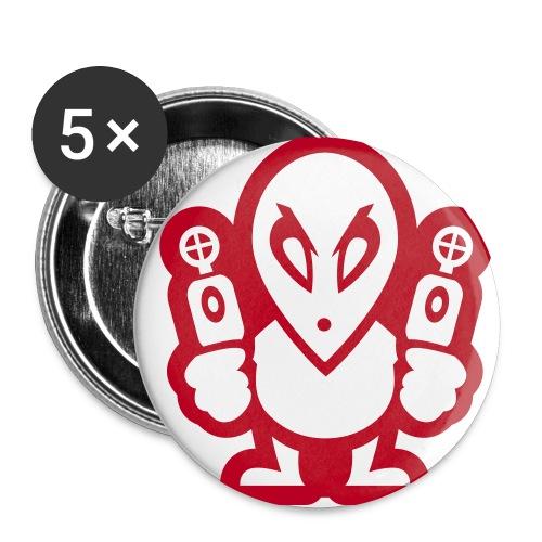 Zomo (Przypinki) 25mm 1 - Przypinka mała 25 mm (pakiet 5 szt.)