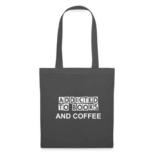 Addicted to Books and Coffee - Tote Bag