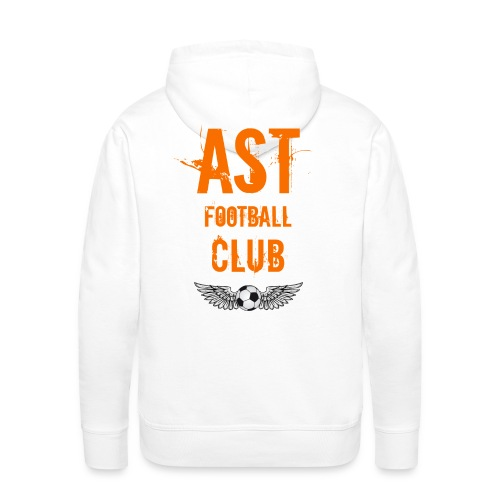 AST football 02 - Sweat-shirt à capuche Premium pour hommes