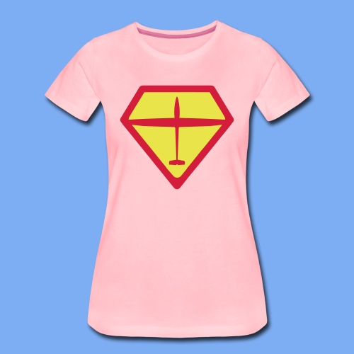 super glider - Frauen Premium T-Shirt