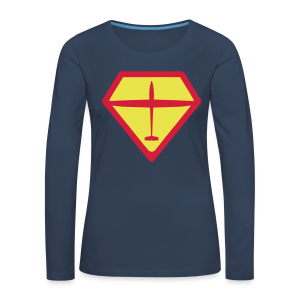 super glider - Frauen Premium Langarmshirt