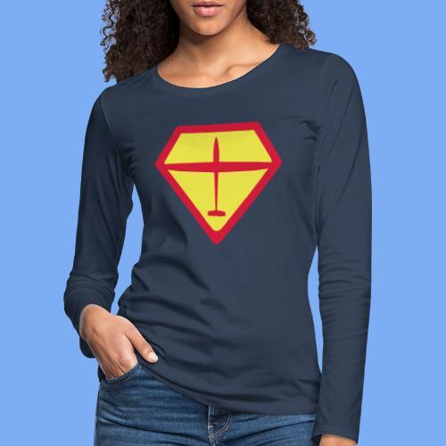 super glider - Women's Premium Longsleeve Shirt