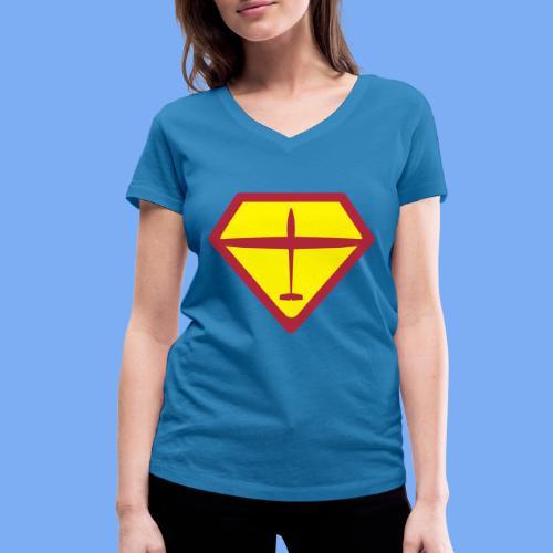 super glider - Frauen Bio-T-Shirt mit V-Ausschnitt von Stanley & Stella