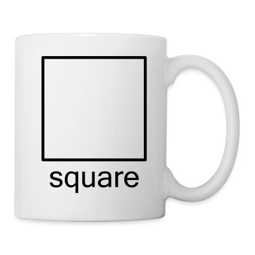 Geek Pop Square mug - Mug