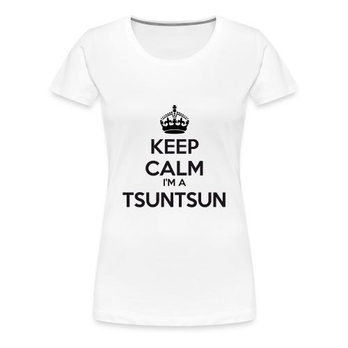 ♀ - Tsuntsun Keep Calm - Women's Premium T-Shirt