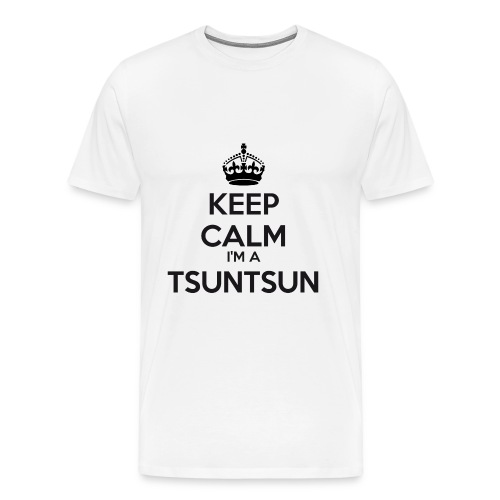 ♂ - Tsuntsun Keep Calm - Men's Premium T-Shirt