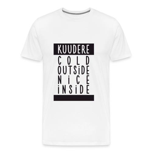 ♂ - Kuudere - Cold & nice - Men's Premium T-Shirt