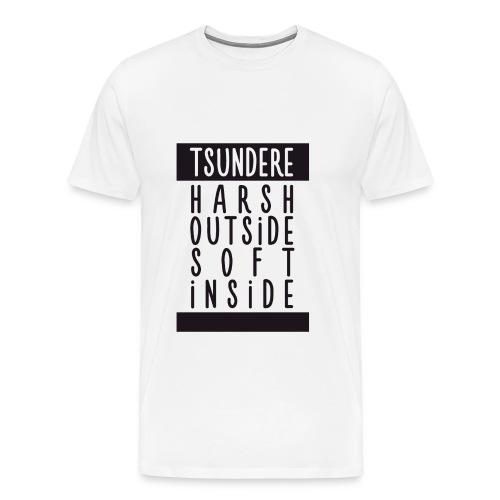 ♂ - Tsundere - Harsh & soft - Men's Premium T-Shirt