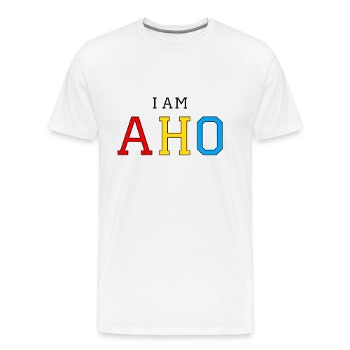 ♂ -  I am AHO - Men's Premium T-Shirt