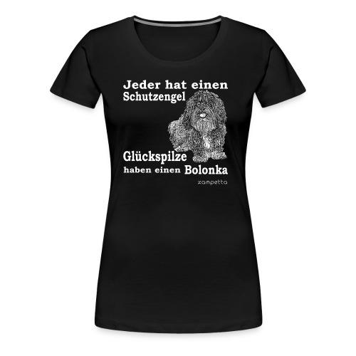 zampetta Bolonka Shirt bis 3XL - Frauen Premium T-Shirt